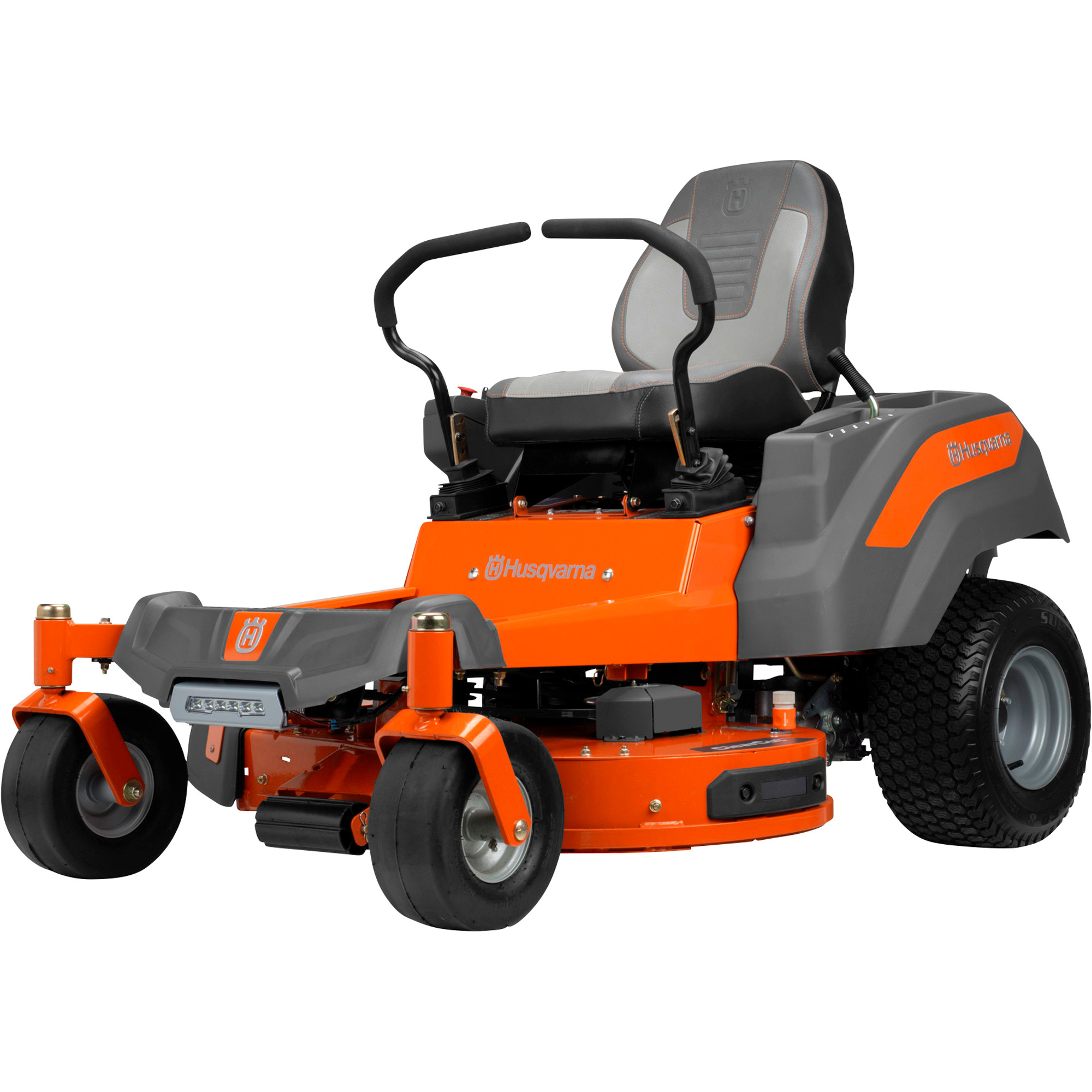 Husqvarna Z200 Series ReadyStart Zero-Turn Mower — 23 HP, 726cc Kawasaki  FR691V Engine with Ready Start, 54in  Cutting Deck, Model# Z254F