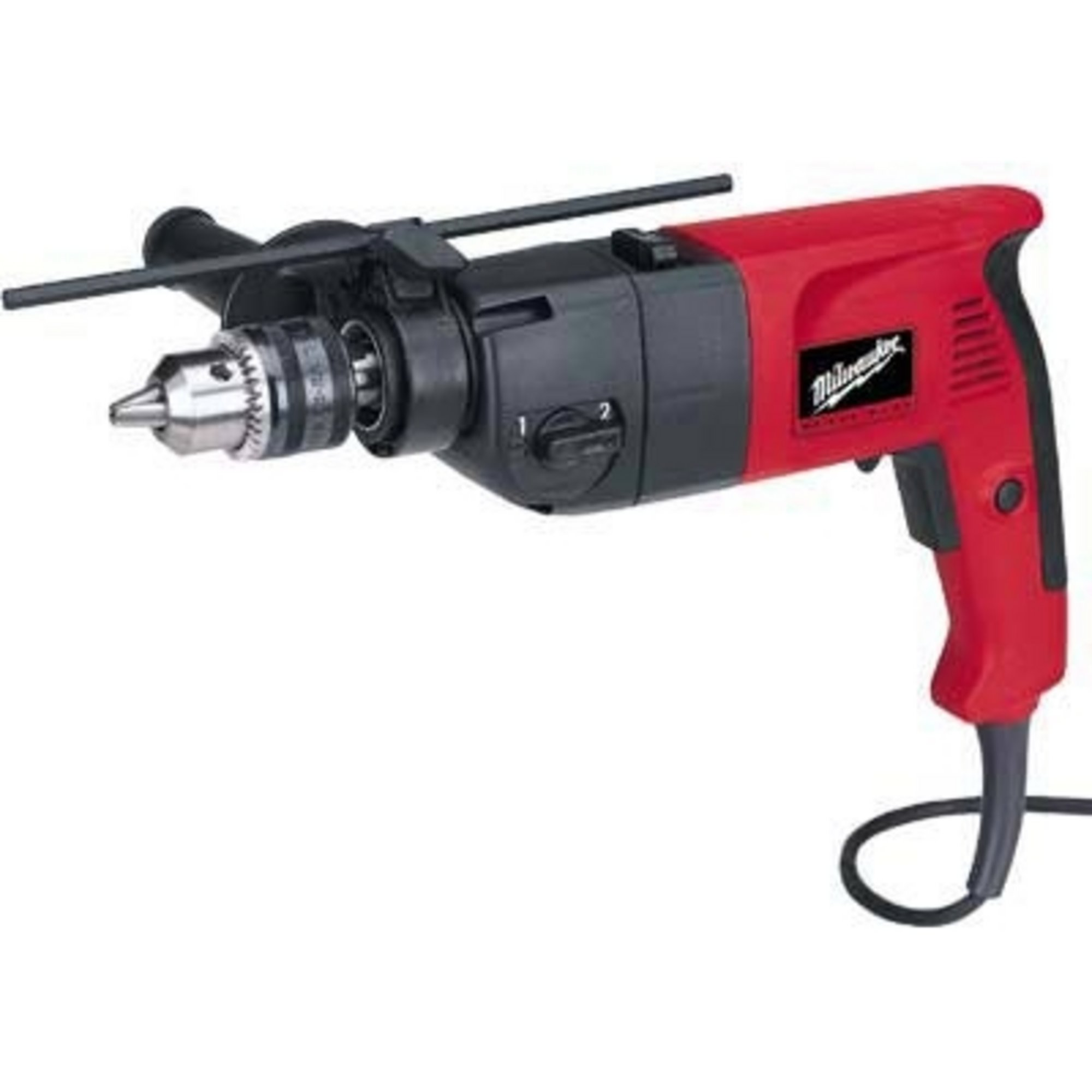 Milwaukee Corded Electric Dual Speed Hammer Drill 1 2in