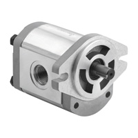 Dynamic Fluid Components High Pressure Hydraulic Gear Pump — 3650 Max. PSI, Spline 9-Tooth Shaft, Model# GP-F20-12-S9-C