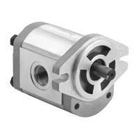 Dynamic Fluid Components High Pressure Hydraulic Gear Pump — 3650 Max. PSI, Spline 9-Tooth Shaft, Model# GP-F20-08-S9-A