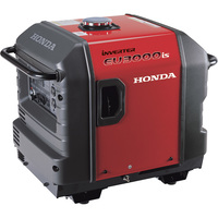 FREE SHIPPING — Honda EU3000iS Portable Inverter Generator — 3,000 Surge Watts, 2,800 Rated Watts, CARB Compliant, Model# EU3000IS1A