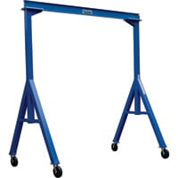 Vestil Fixed Gantry Crane — 2,000-Lb. Capacity