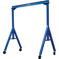 Vestil Fixed-Height Steel Gantry Cranes — 4,000-Lb. Capacity