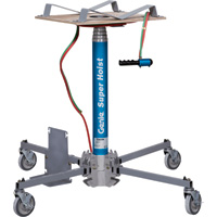 Genie Super Hoist Material Lift — 300-Lb. Load Capacity, 12ft. 5 1/2in. Lift Height, Model# GH 3.8