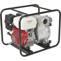 NorthStar Self-Priming Cast Iron Full Trash Water Pump — 3in. Ports, 21,000 GPH, 1 1/4in. Solids Capacity, 240cc Honda GX240 Engine