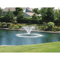 Scott Display Pond Aerator — 1 HP, 230V, 70-Ft. Power Cord, Model# DA-20