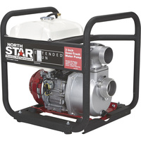NorthStar Extended Run Semi-Trash Pump — 3in. Ports, 15,850 GPH, 3/4in. Solids Capacity, 200cc Honda GX200 Engine