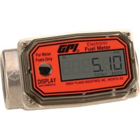 FREE SHIPPING – GPI Digital Fuel Meter — 1in. Inlet/Outlet, 3 to 30 GPM, Model# 01A31GM