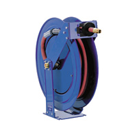 Coxreels Retractable Fuel Hose Reel — 3/4in. x 50ft. Hose, 300 PSI, Model# TSHF-N-550
