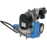 IPT Diaphragm Pump — 3in. Ports, 5280 GPH, 1 5/8in. Solids Capacity, 127cc Briggs & Stratton 550 Series Engine, Model# 3D4XA