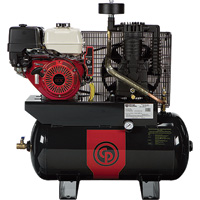 FREE SHIPPING — Chicago Pneumatic Gas-Powered Air Compressor — 11 HP, 30 Gallon, Model# RCP-1130G HONDA