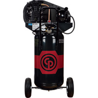 FREE SHIPPING — Chicago Pneumatic Portable Electric Air Compressor — 2 HP, 26 Gallon Vertical, 7.0 CFM, Model# 8090254130