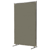 Steiner Protect-O-Screen Classic Welding Screen — Olive Drab Cotton Duck, 6ft. x 6ft., Model# 50166