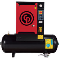 FREE SHIPPING — Chicago Pneumatic Quiet Rotary Screw Air Compressor, Model# QRS3.0HP