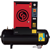 FREE SHIPPING — Chicago Pneumatic Quiet Rotary Screw Air Compressor — 5 HP, 230 Volts, 3 Phase, Model# QRS5.0HP-3