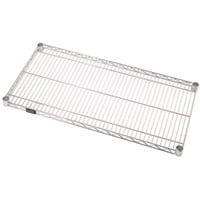 Quantum Additional Shelf for Wire Shelving System — 36in.W x 14in.D, Model# 1436C