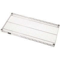 Quantum Additional Shelf for Wire Shelving System — 42in.W x 14in.D, Model# 1442C