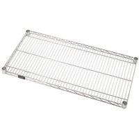 Quantum Additional Shelf for Wire Shelving System — 48in.W x 14in.D, Model# 1448C