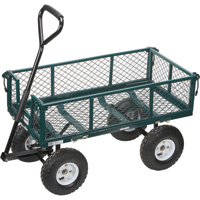 Northern Tool + Equipment Steel Cart — 34in.L x 18in.W, 400-Lb. Capacity, Model# NTE110