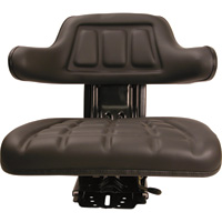 A & I 5-Position Black Seat — Black, Model# W222BL