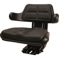 A & I 5-Position Black Seat — Black, Model# W223BL