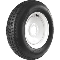 FREE SHIPPING — Carrier Star 5-Hole High Speed Standard Rim Design Trailer Tire Assembly — ST175/80D-13