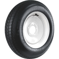 FREE SHIPPING — 5-Hole High Speed Standard Rim Design Trailer Tire Assembly — ST205/75D14