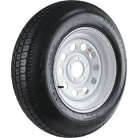 FREE SHIPPING — Carrier Star 5-Hole High Speed Modular Rim Design Trailer Tire Assembly, Model# ST205/75D15