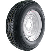 FREE SHIPPING — High-Speed Radial Trailer Tire Assembly, Modular, ST205/75R14
