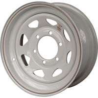 FREE SHIPPING — High-Speed Radial Trailer Wheel, Spoked, ST205/75-15 and ST225/75-15