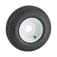 Kenda High Speed Standard Rim Design Trailer Tire Assembly — 16.7 x 6.6 x 8, 4-Hole