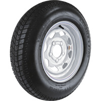 FREE SHIPPING — Carrier Star 5-Hole High Speed Spoked Rim Design Trailer Tire Assembly — ST175/80D-13