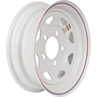 FREE SHIPPING — High Speed Replacement 5-Hole Trailer Wheel — ST175/80D-13