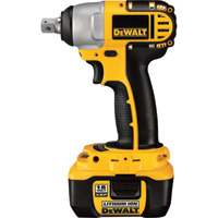 FREE SHIPPING — DEWALT Cordless Impact Wrench — 18V, 1/2in., Model# DC822KL
