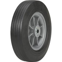 Martin Flat-Free Solid Rubber Tire and Poly Wheel — 10 x 2.75 Tire, Model# ZP1102RT-2C2