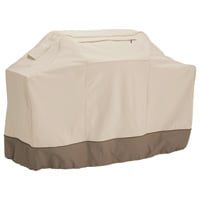 Classic Accessories Veranda Barbecue Grill Cover — X-Large, Pebble, 70in.L x 24in.D x 48in.H, Model# 73942