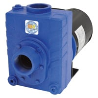 IPT Cast Iron Self-Priming Centrifugal Water Pump — 9000 GPH, 3 HP, 2in., Model# 2766-IPT-95