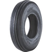 2-Ply Sawtooth Tread Replacement Tubeless Tire for Pneumatic Assemblies — 14.7in. x 530/450 x 6