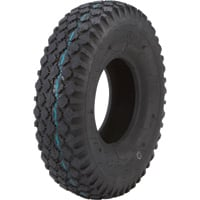Kenda Studded Tread Replacement Tubeless Tire for Pneumatic Assemblies — 14.7in. x 530/450 x 6