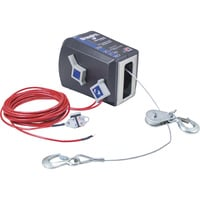 Dutton-Lainson StrongArm 12 Volt DC Powered Electric Winch — 2200-Lb. Capacity, Galvanized Aircraft Cable, Model# SA7000DC