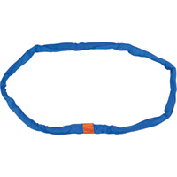 B/A Products Double-Jacket Round Sling — Blue, 21,200-lb. Capacity, Model# 38-RSB-20
