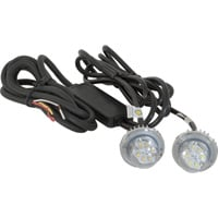 Buyers Products Hidden LED Strobe Light — 2-Pc. Set, White Light with 15ft. Cord, Model# 8891215
