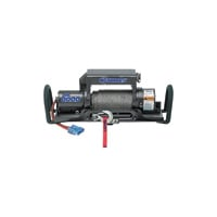 Ramsey Quick Mount 12 Volt DC Powered Electric Truck Winch — 8000-Lb. Capacity, Galvanized Aircraft Cable, Model# QM8000
