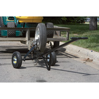Ultra-Tow Trailer Dolly — 600-Lb. Capacity, Pneumatic Tires