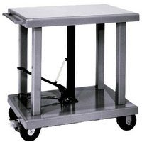 Wesco Hydraulic Lift Table — 2,000-Lb. Capacity, Model# 260064