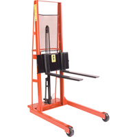 Wesco Straddle Forklift Stacker — 1,000-Lb. Capacity, Model# 260055