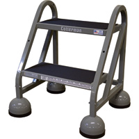 Cotterman Steel (Step) Ladder — 18in. Max. Height, Model# C0840090-002