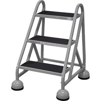 Cotterman Steel (Step) Ladder — 27in. Max. Height, Model# D0840026-01-001