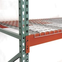 AK Industrial Pallet Rack Wire Deck — 24in.D x 46in.W, Model# AK-WDF-24-46