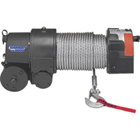 Ramsey 12 Volt DC Powered Electric Front Mount Truck Winch — 8000-Lb. Capacity, Wire Rope, Model# RE 8000